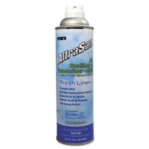Misty AltraSan Air Sanitizer, Fresh Linen, 10-oz Aerosol Spray (AMR1037236EA)