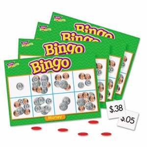 Trend Young Learner Bingo Game, Money (TEPT6071)