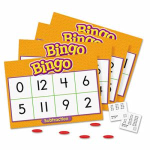 Trend Young Learner Bingo Game, Subtraction (TEPT6070)