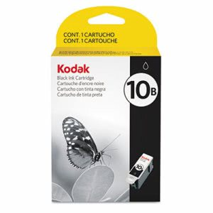 Kodak 1163641 (#10B) Ink, 425 Page-Yield, Black (KOD1163641)