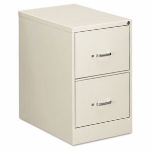 Oif Two-Drawer Economy Vertical File, 18-1/4w x 26-1/2d x 29h, Gray (EFS22207)