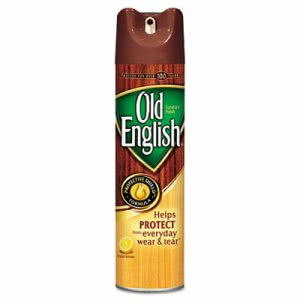 Old English Furniture Polish, Lemon Scent, 12.5 oz. Aerosol Can (RAC74035EA)