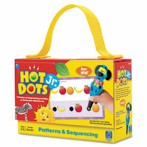 Educational Insights Hot DotsJr. Card Sets, Patterns (EII2356)