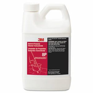 3m Purpose Cleaner Concentrate 8P, Citrus, 1.9 liter Bottle, 6/Carton (MMM8P)