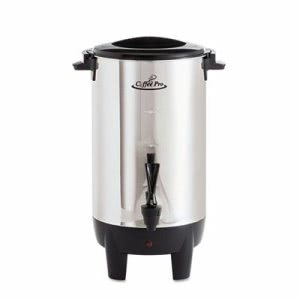 Coffee Pro 30-Cup Percolating Urn, Stainless Steel (OGFCP30)