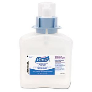 Purell Advanced FMX-12 Foam Instant Hand Sanitizer Refill, w/Moisturizers, 1200-ml (GOJ519203)