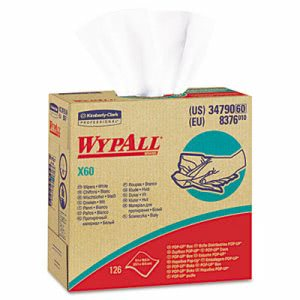 Wypall X60 Wipers, 126 Wipers (KCC34790BX)