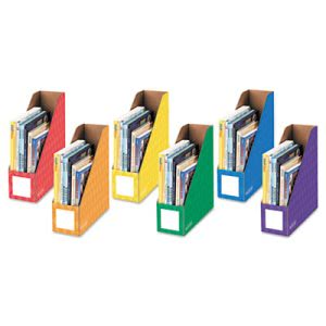 Bankers Box Cardboard Magazine File, 4 1/4 x 12 1/4 x 13, 6 Files(FEL3381901)
