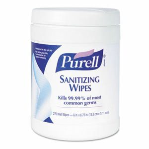 Purell Hand Sanitizing Wipes, 6 - 270 Wipe Canisters (GOJ 9113-06)