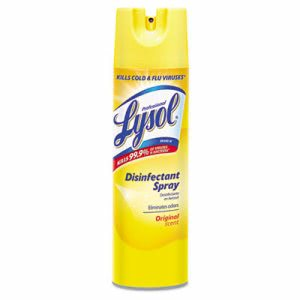 Lysol 04650 Disinfectant Spray, Original Scent, 12 Cans (RAC04650CT)