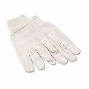 Boardwalk Men's Cotton Canvas Gloves, Large, 12 Pairs (BWK 7)