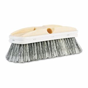 Boardwalk Polystyrene Vehicle Brush w/Vinyl Bumper (BWK 8410)