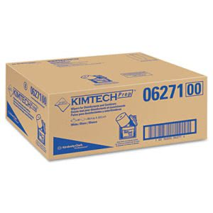 Kimtech WETTASK Wiping System Refill, White, 90 Sheets/Roll, 6 Rolls (KCC06271)
