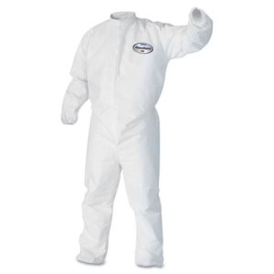 Kleengard Splash & Particle Protection Apparel, Large, 25 Coveralls (KCC46103)