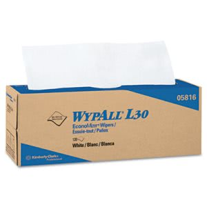 Wypall L30 General Purpose Wipers, Pop-Up Box, 720 Wipers (KCC05816)