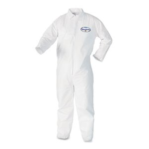 Kleenguard A40 Particle Protection Coveralls, 2XL, 25 Coveralls (KCC 44305)