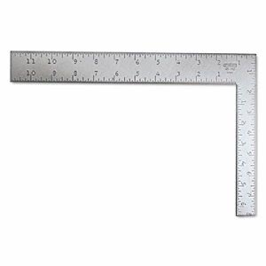 Stanley Tools Carpenter's Square, Steel, 12 in (BOS45912)