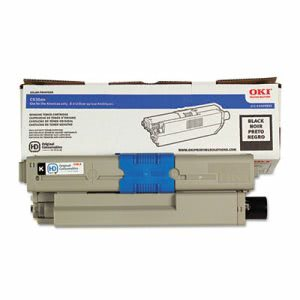 Oki 44469802 Toner, 5,500 Page-Yield, Black, 1 Each (OKI44469802)