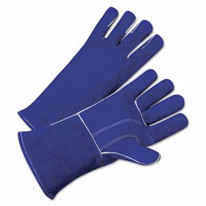 Anchor Brand Leather Welder's Gloves, Gauntlet Cuff, Large (ANR3030)