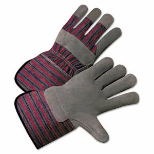 Anchor Brand 2000 Series Leather-Palm Gloves, 4 1/2in Cuff, Large (ANR2150)