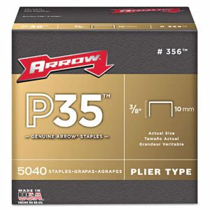 "Arrow P35 Type Staples, 3/8"" (ARR356)"
