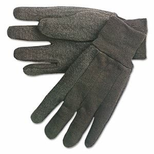 Memphis Dotted-Palm Cotton Jersey Gloves, Clute Pattern, Mens (MPG7800)