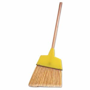"Weiler Angle Broom, Flagged Plastic Bristles, 54"" Length (WEI44305)"