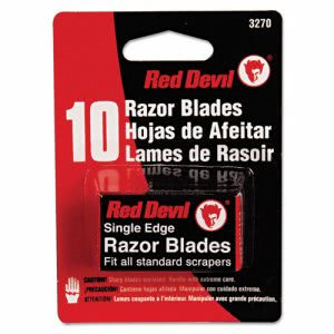Red Devil Single Edge Scraper Razor Blade (RDL3270)