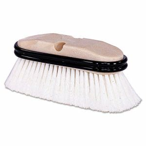 "Weiler Truck Wash Brush, O Handle, Flagged, White, 9-1/2"" (WEI44510)"