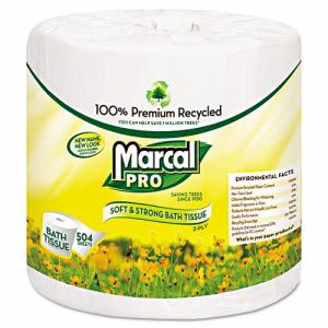 Marcal 5001 Standard 2-Ply Toilet Paper Rolls, 48 Rolls (MRC5001)