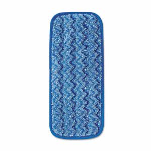 "Rubbermaid Q820 Hygen Microfiber 11"" Wall/Stair Wet Mop Pad (RCPQ820BLU)"