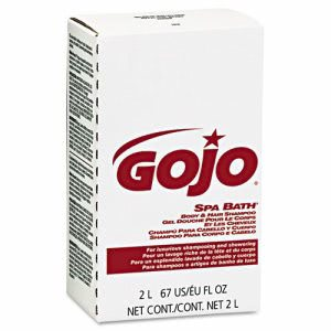 Gojo Bath Body & Hair, Herbal, Rose Color, 2000mL Refill, 4/Carton (GOJ2252)