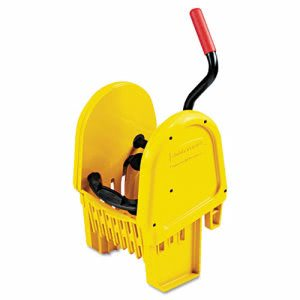 Rubbermaid 7575-88 WaveBrake Down Press Mop Wringer (RCP 7575-88 YEL)