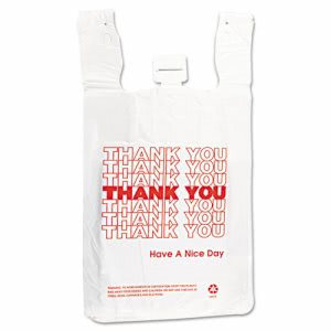 Thank You Bags, 500 Bags (IBS THW2VAL)
