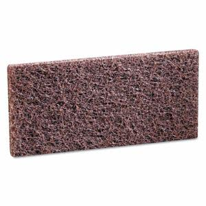 3M Doodlebug Scrub 'n Strip Pad, Brown, 20 Pads (MMM08004)