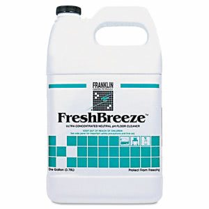 Franklin FreshBreeze Neutral pH Floor Cleaner, Citrus, 4 Gallons (FKLF378822)