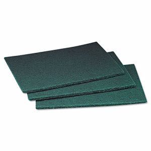 Scotch-Brite Industrial Commercial Scouring Pad, 6 x 9, 60/Carton (MMM08293)
