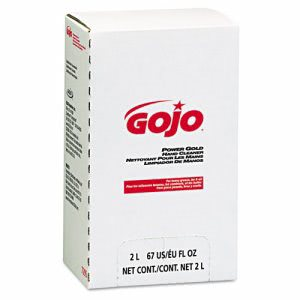 Gojo Power Gold Liquid Hand Cleaner with Scrubbers, 2000 ml Refill (GOJ7295)