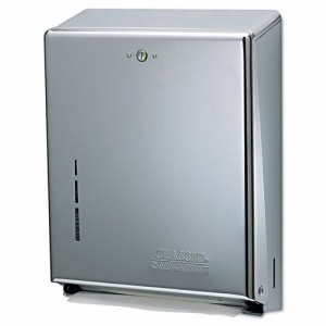 Combination Paper Towel Dispenser, Chrome (SAN T1900XC)
