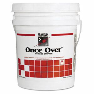 Franklin Once Over Floor Stripper, Mint Scent, 5 Gallon Pail (FKLF200026)