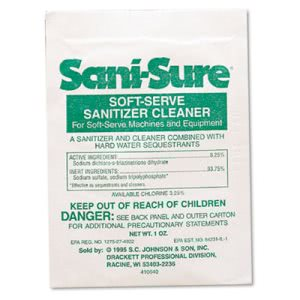 Diversey Sani Sure Soft Serve Cleaner, 1-oz. Packet, 100 Packets (DVO90234)