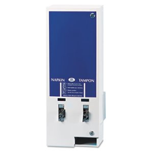 E-Vendor Sanitary Napkin/Tampon Dual-Channel Dispenser (HOSED125)