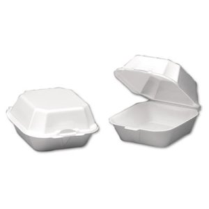 Foam Hinged Large Sandwich Containers, 500 Containers (GNP22500)