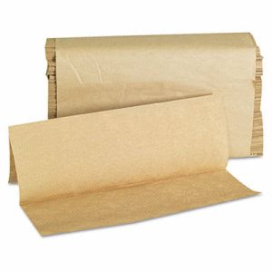 GEN Brown 1-ply Multi-Fold Paper Towels, 4000 Towels (GEN 1508)