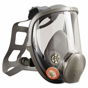 3M Full Facepiece Respirator 6000 Series, Reusable, Large (MCO 54159)