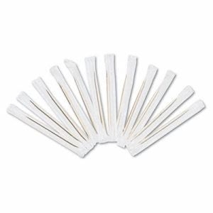 Cello-Wrapped Wooden Toothpicks, 15,000 Toothpicks (RPP RIW15)