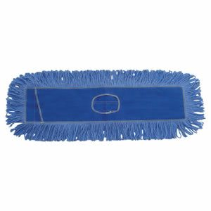 Boardwalk Dust Mop Head, Looped-End, Cotton/Synthetic, 24 x 5, Blue (BWK1124)