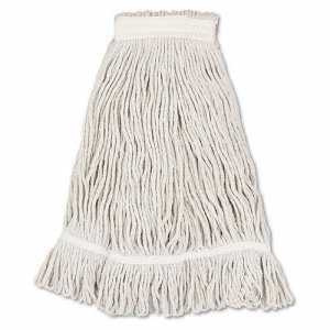 Boardwalk Loop Mop Head, Loop, Standard, Cotton, No. 32, 12 Mop Heads (BWK4032C)