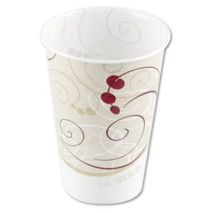 Symphony 7-oz. Wax-Coated Paper Cold Cup, 2,000 Cups (SCCR7NSYM)