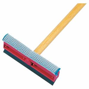 "Boardwalk General-Duty Squeegee, Sponge/Rubber Blade, 21"" Metal Handle (BWK824)"